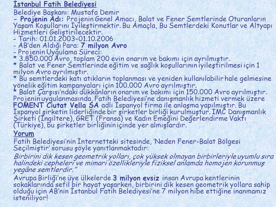 İstanbul Fatih Belediyesi