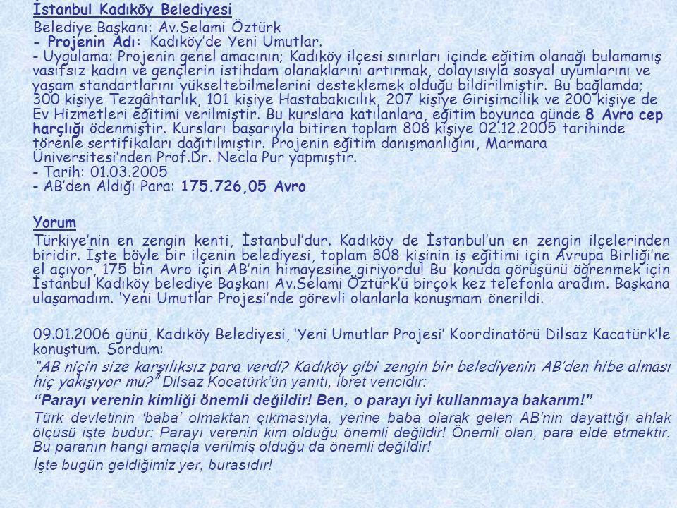 İstanbul Kadıköy Belediyesi