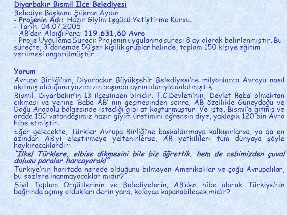 Diyarbakır Bismil İlçe Belediyesi