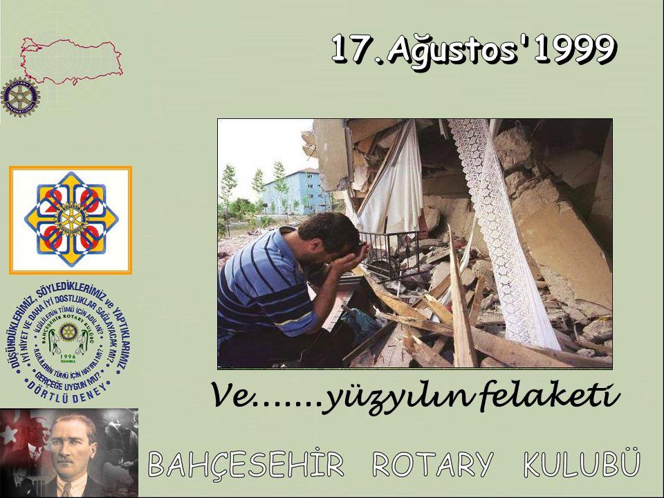 17.Ağustos 1999 Ve.......yüzyılın felaketi