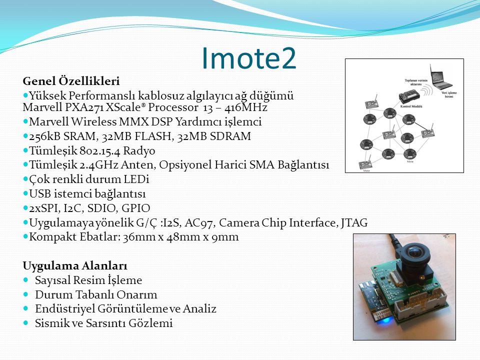 Imote2 Genel Özellikleri