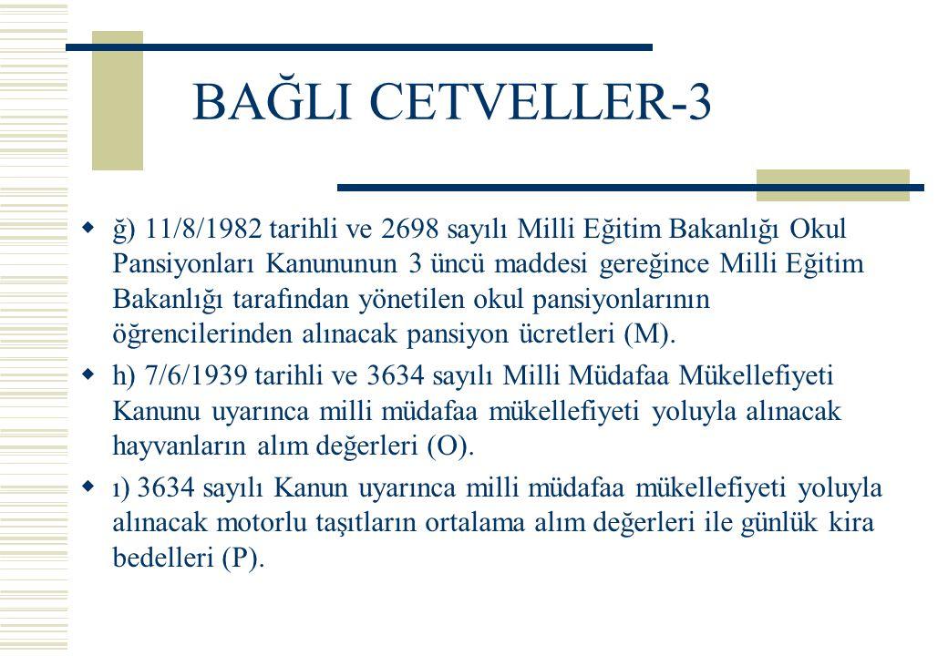 BAĞLI CETVELLER-3