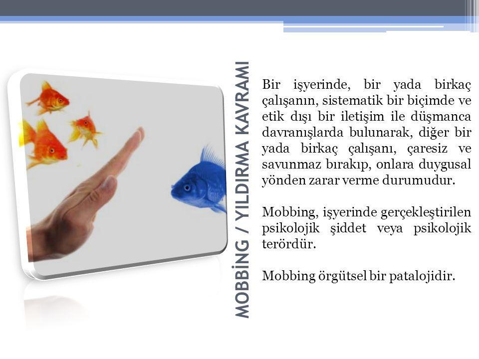 MOBBİNG / YILDIRMA KAVRAMI
