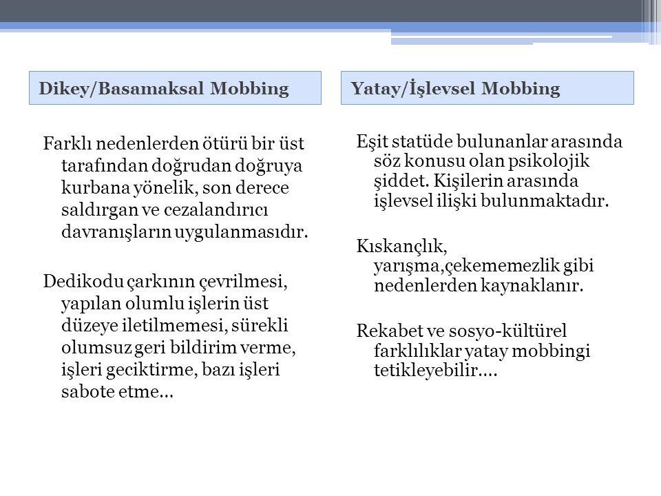 Dikey/Basamaksal Mobbing