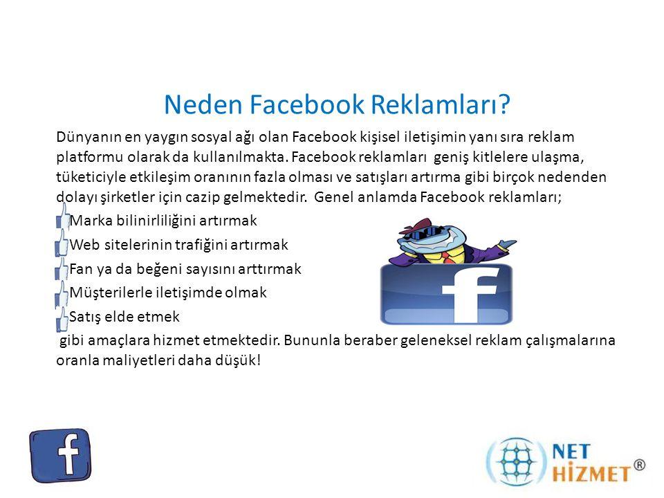 Neden Facebook Reklamları