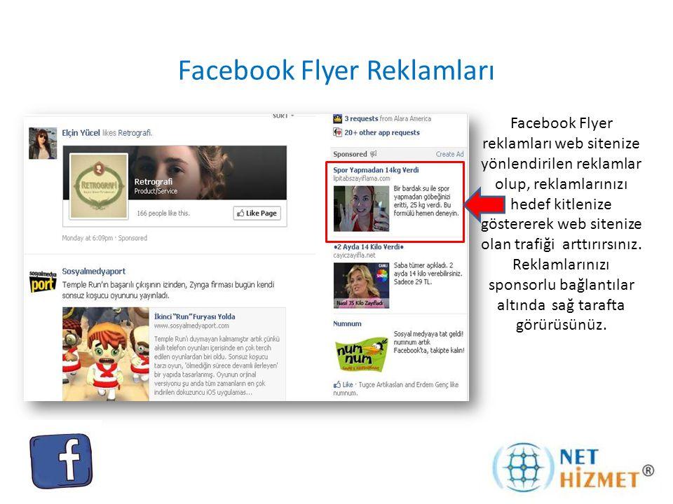 Facebook Flyer Reklamları
