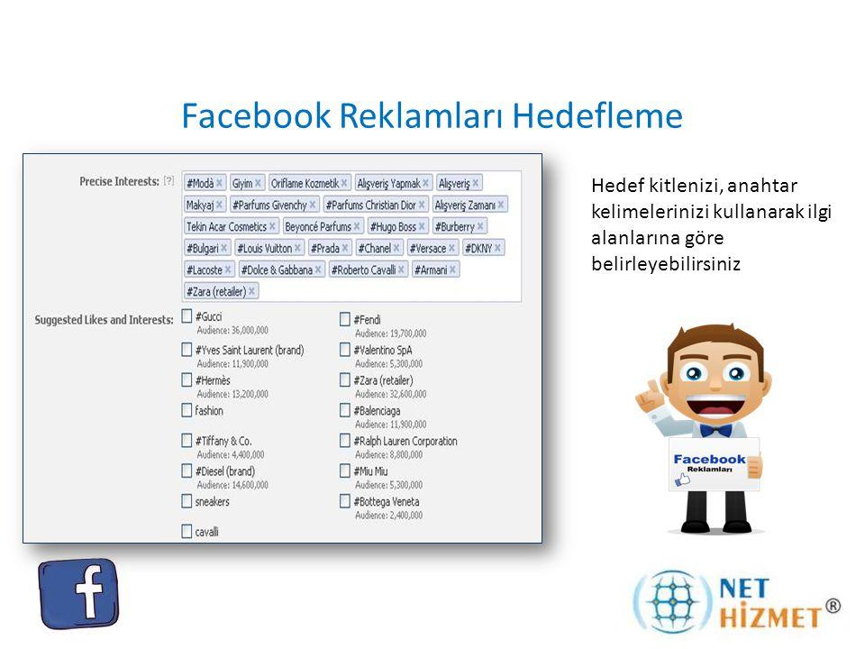 Facebook Reklamları Hedefleme