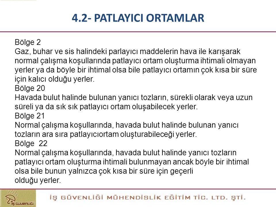 4.2- PATLAYICI ORTAMLAR Bölge 2