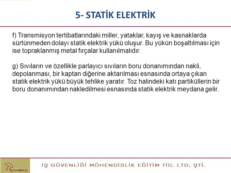 5- STATİK ELEKTRİK