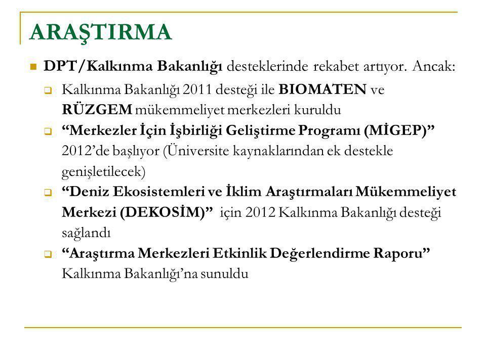ARAŞTIRMA DPT/Kalkınma Bakanlığı desteklerinde rekabet artıyor. Ancak: