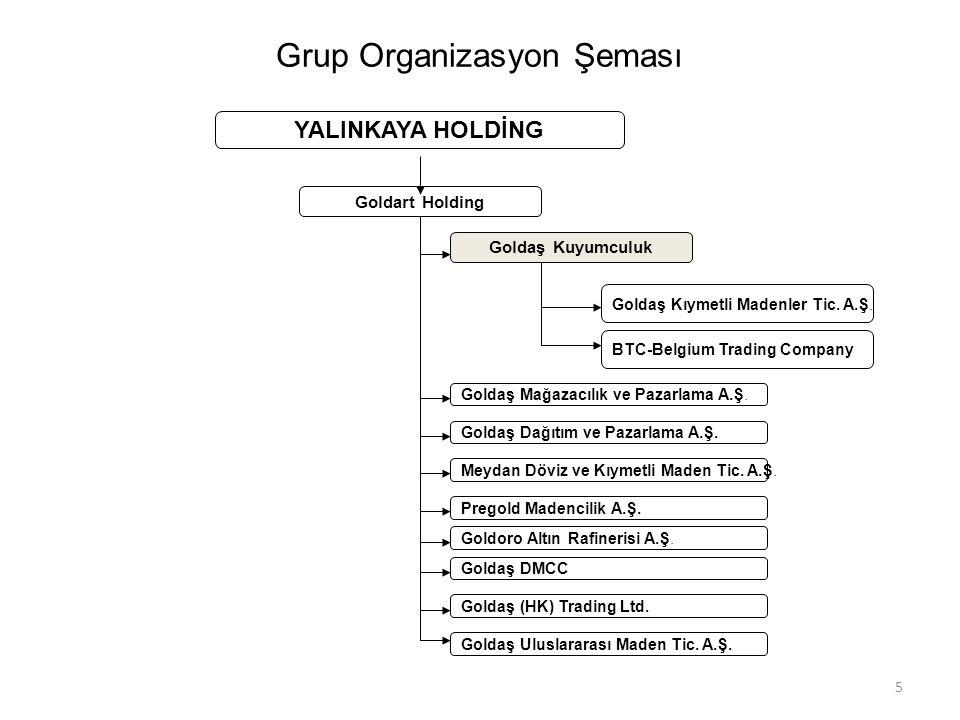 Grup Organizasyon Şeması