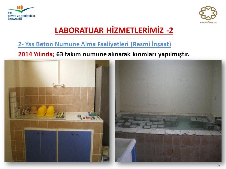 LABORATUAR HİZMETLERİMİZ -2