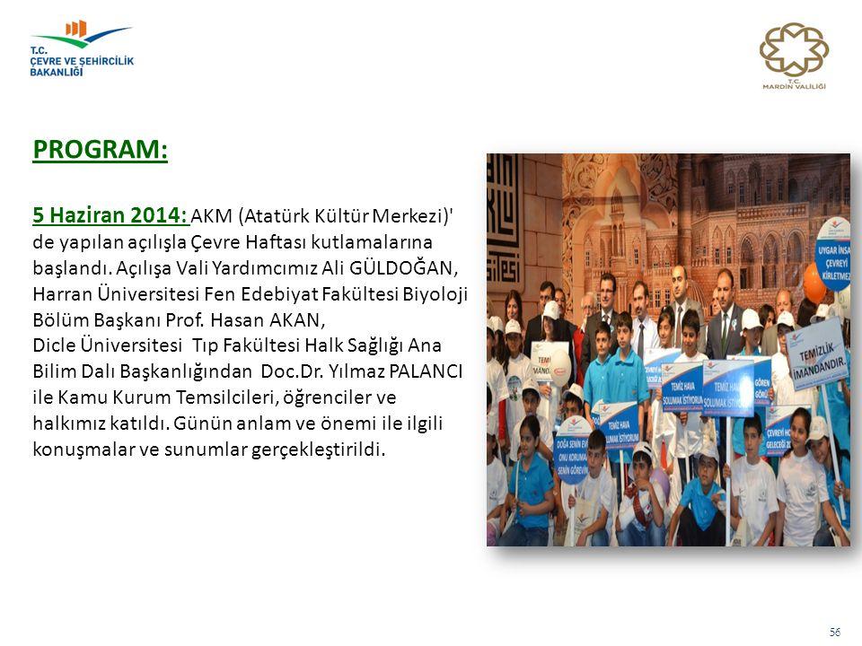 PROGRAM: 5 Haziran 2014: AKM (Atatürk Kültür Merkezi)