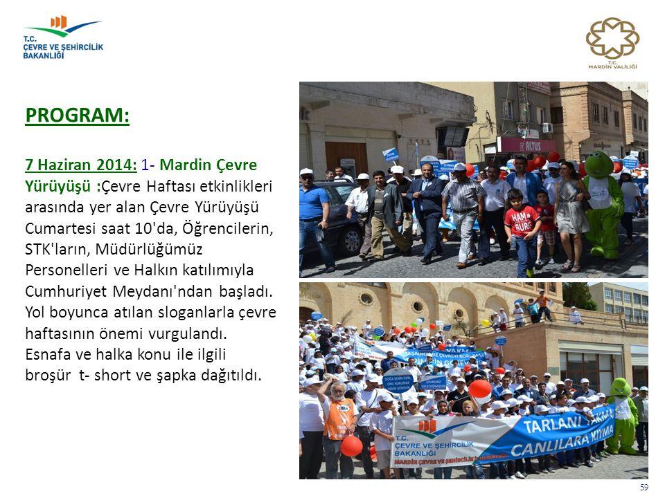 PROGRAM: 7 Haziran 2014: 1- Mardin Çevre