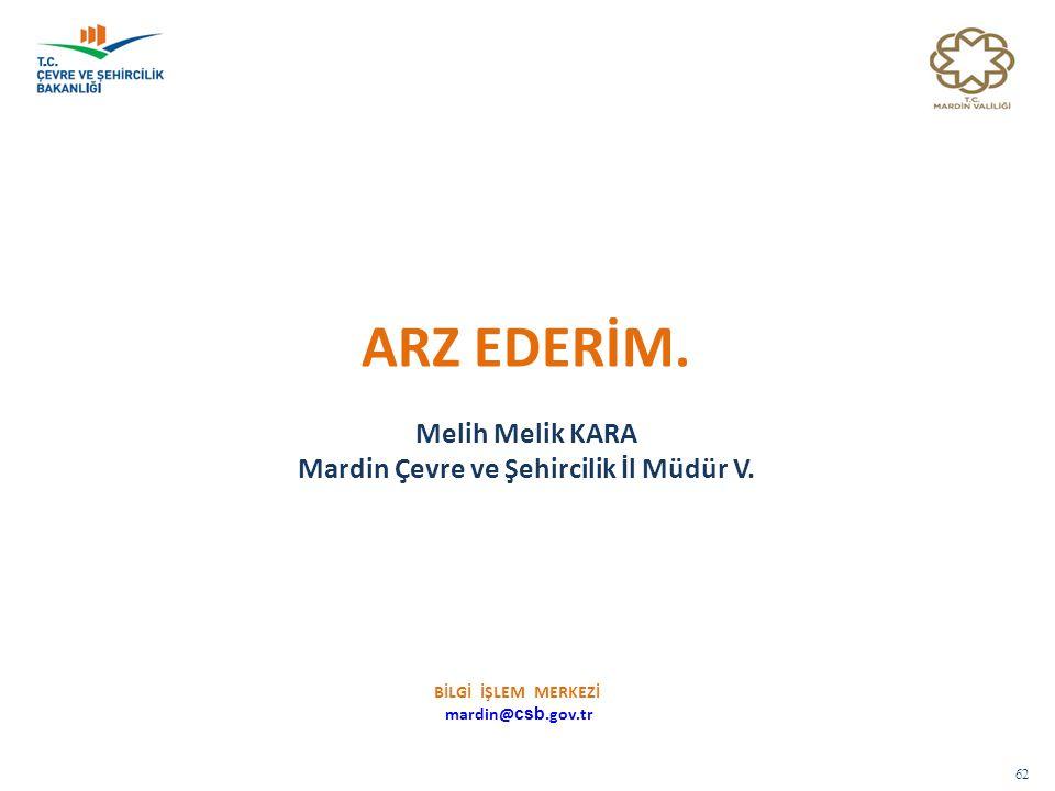 Mardin Çevre ve Şehircilik İl Müdür V.
