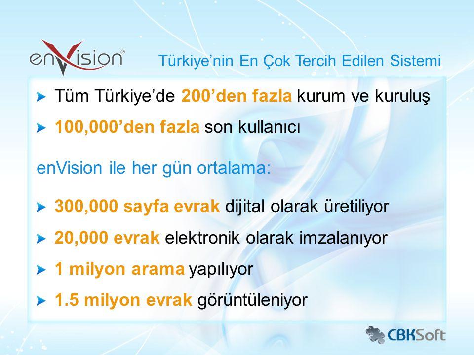Türkiye'nin En Çok Tercih Edilen Sistemi