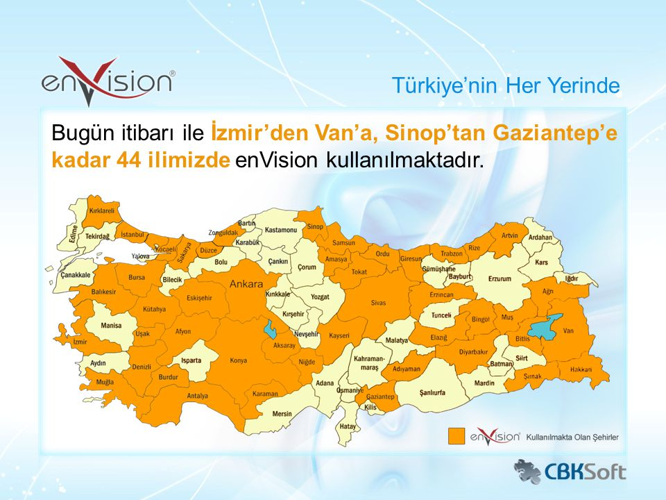 Türkiye'nin Her Yerinde