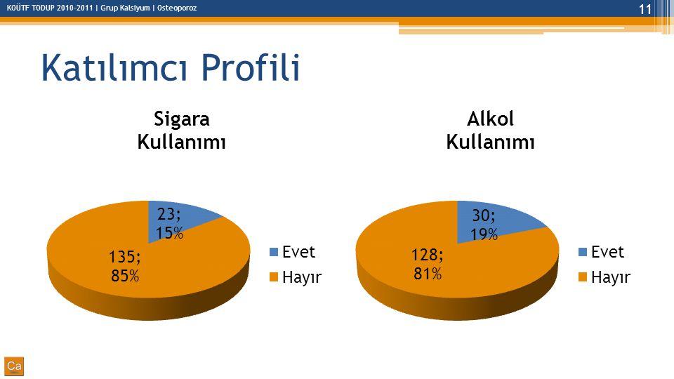 Katılımcı Profili
