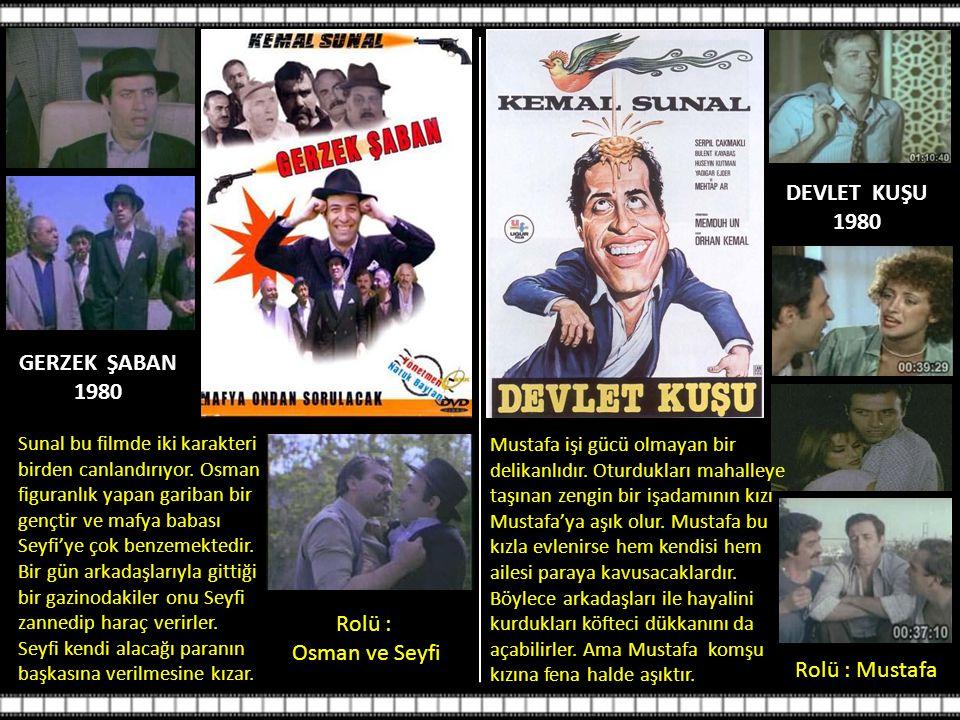 DEVLET KUŞU 1980 GERZEK ŞABAN 1980