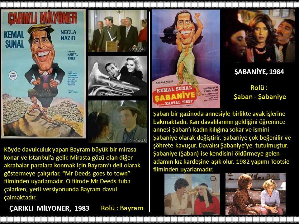 ŞABANİYE, 1984 ÇARIKLI MİLYONER, 1983