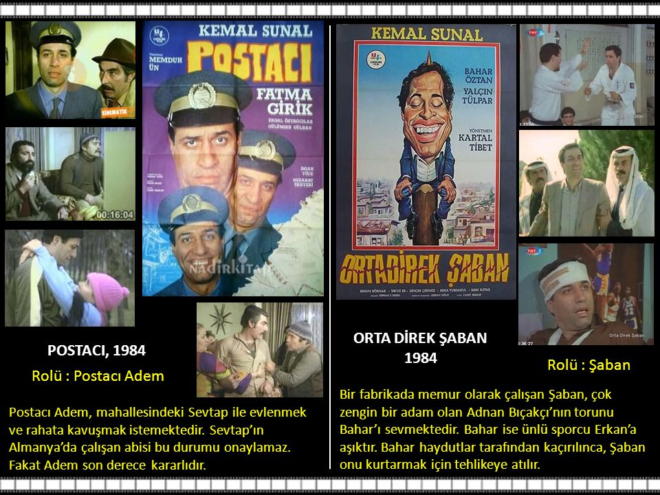 ORTA DİREK ŞABAN 1984 POSTACI, 1984