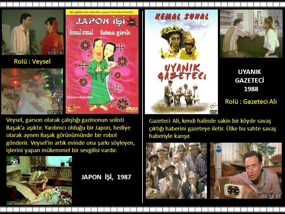 UYANIK GAZETECİ 1988 JAPON İŞİ, 1987