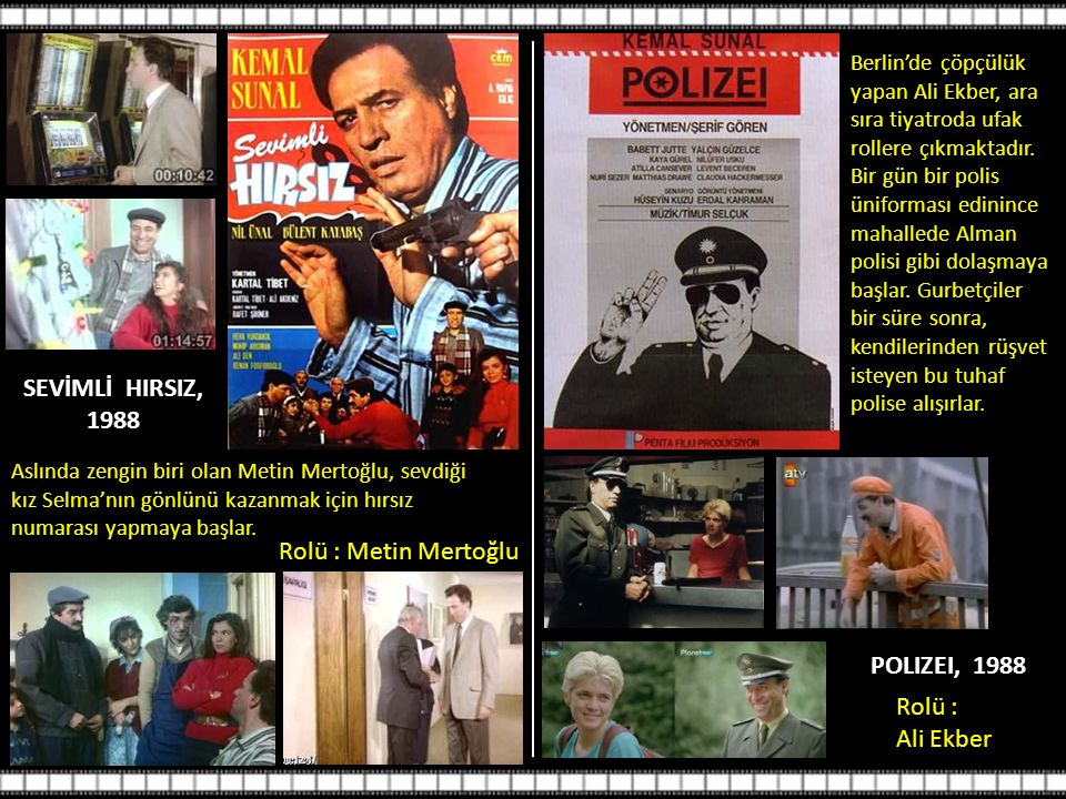 SEVİMLİ HIRSIZ, 1988 POLIZEI, 1988