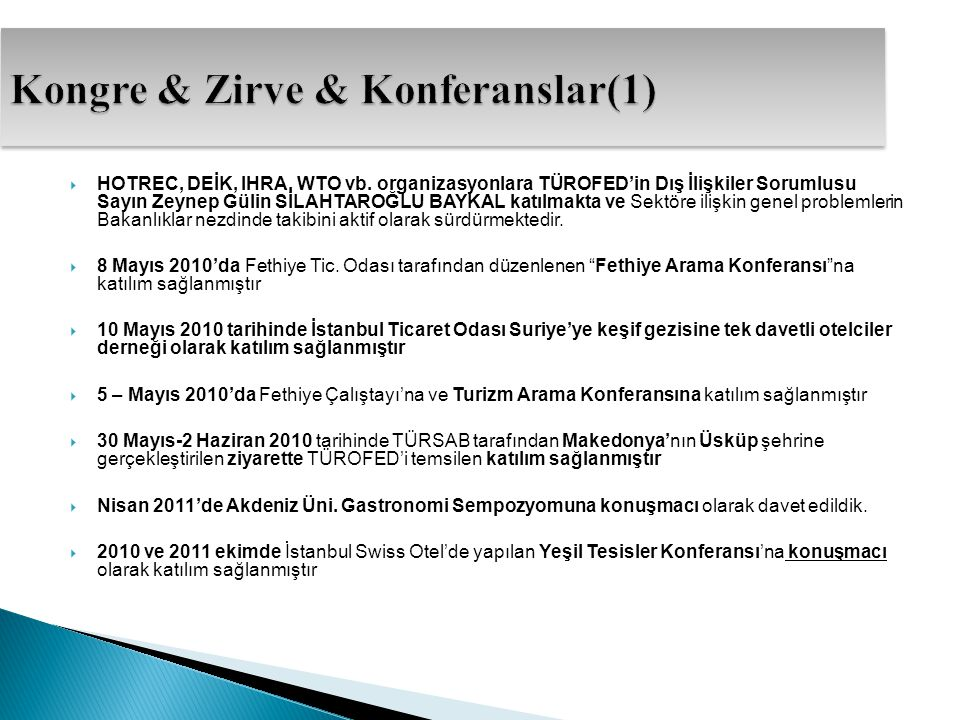 Kongre & Zirve & Konferanslar(1)