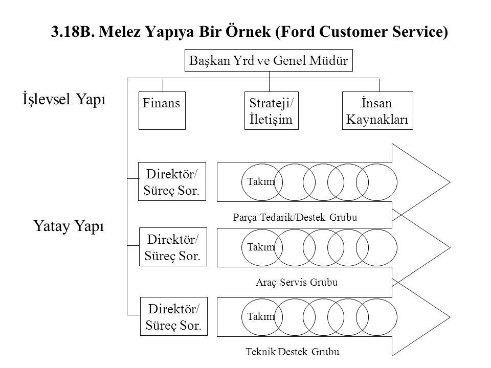 3.18B. Melez Yapıya Bir Örnek (Ford Customer Service)