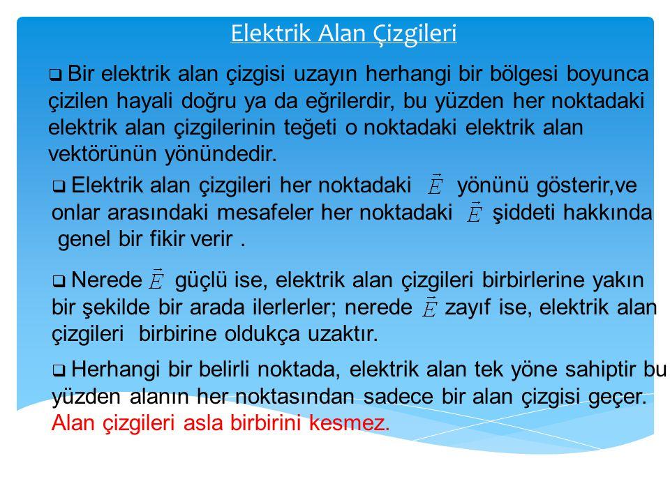 Elektrik Alan Çizgileri