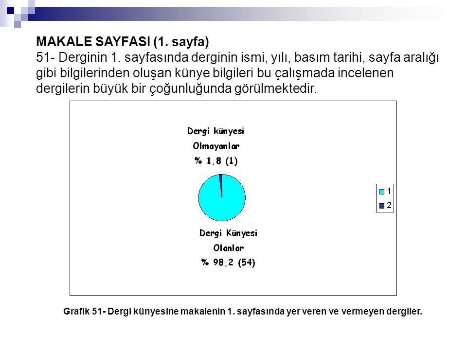 MAKALE SAYFASI (1. sayfa)