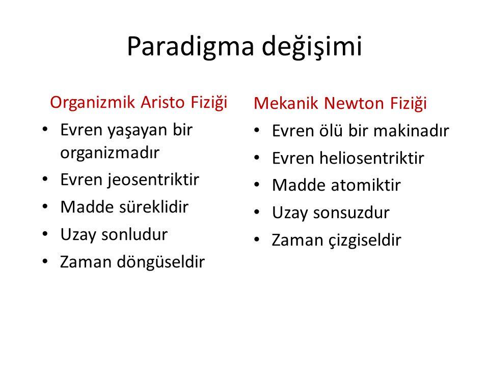 Organizmik Aristo Fiziği