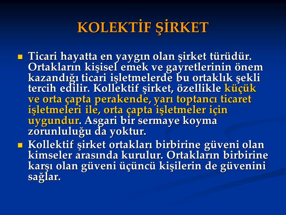 KOLEKTİF ŞİRKET