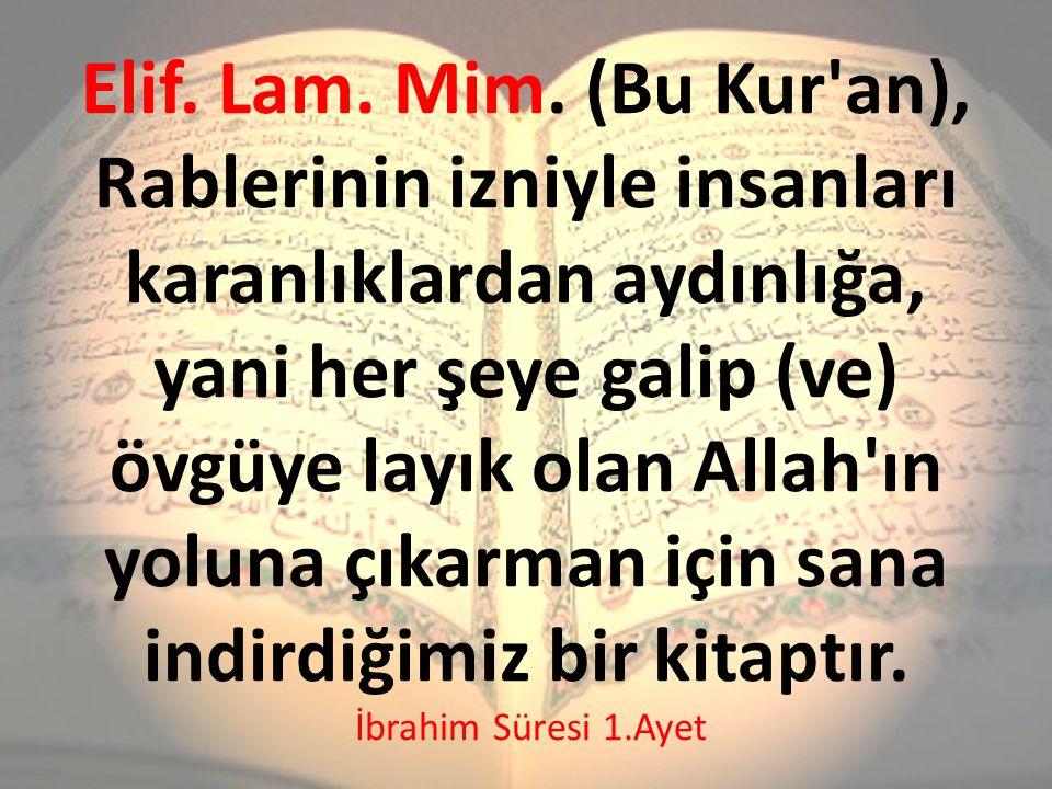 Elif. Lam. Mim.