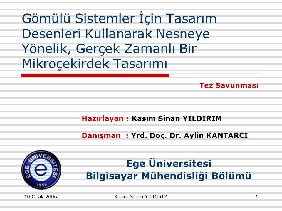 Ege Üniversitesi Bilgisayar Mühendisliği Bölümü