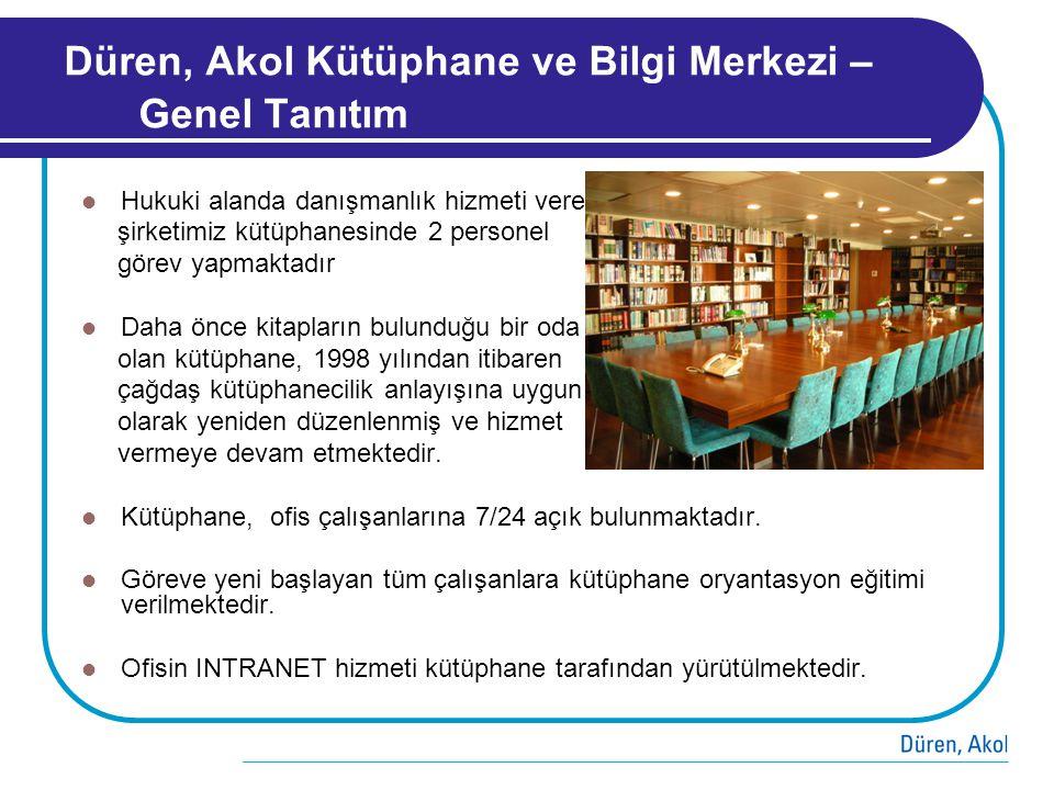 Düren, Akol Kütüphane ve Bilgi Merkezi – Genel Tanıtım