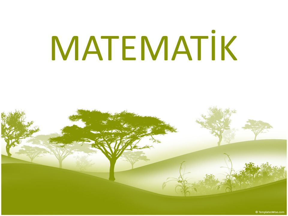 MATEMATİK