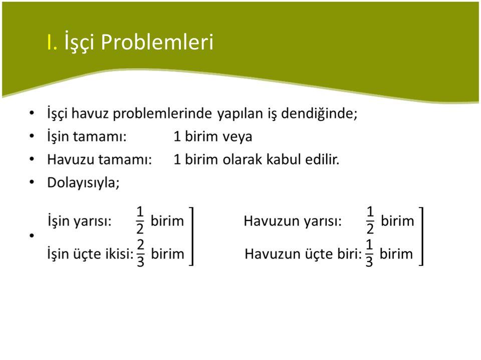 I. İşçi Problemleri