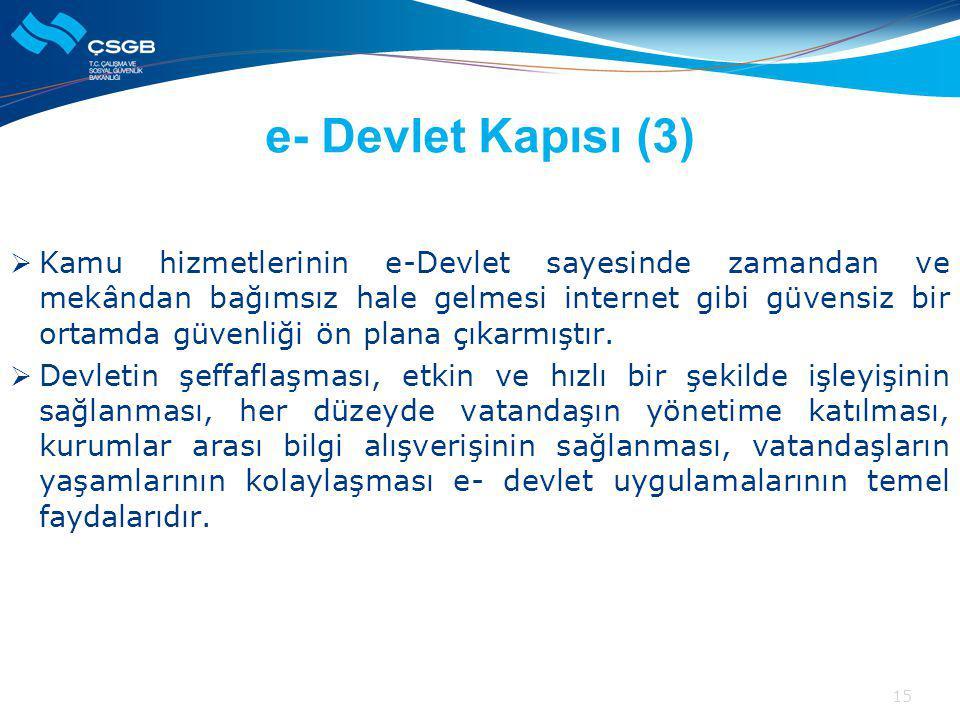 e- Devlet Kapısı (3)