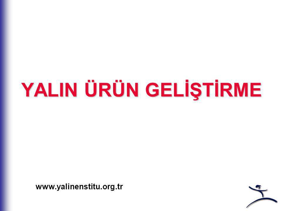 YALIN ÜRÜN GELİŞTİRME www.yalinenstitu.org.tr
