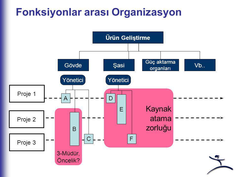 Fonksiyonlar arası Organizasyon