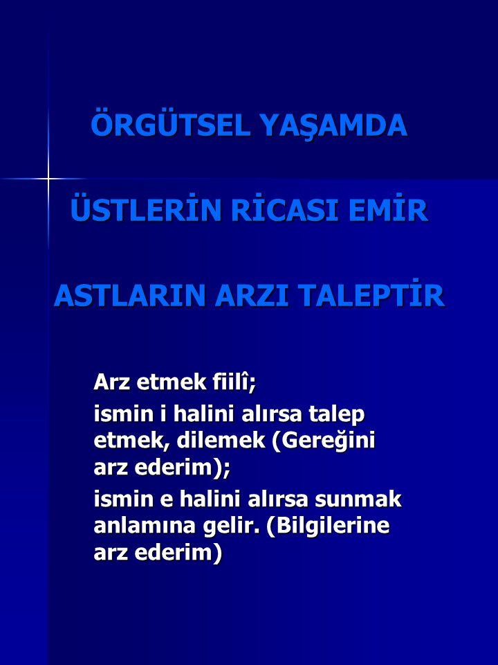 ASTLARIN ARZI TALEPTİR