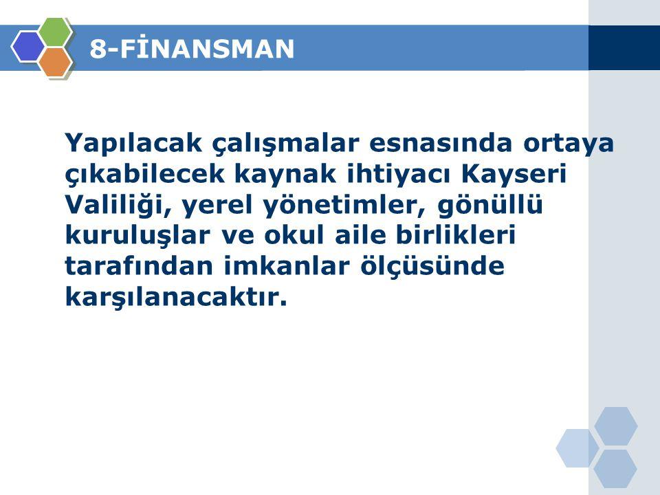 8-FİNANSMAN