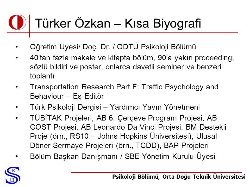 Türker Özkan – Kısa Biyografi