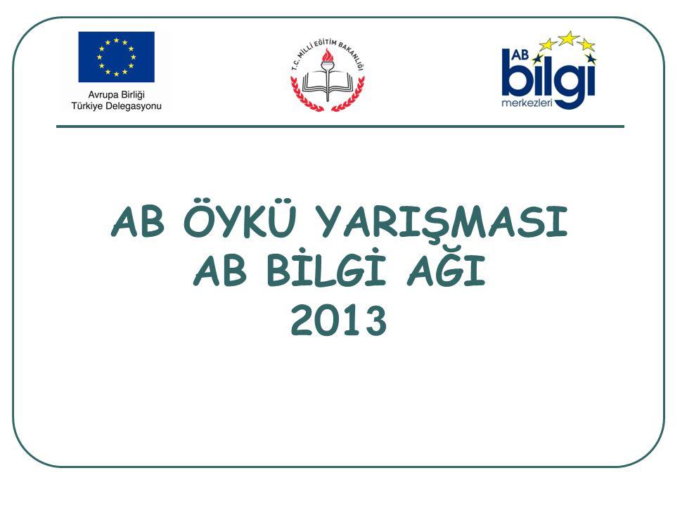 AB ÖYKÜ YARIŞMASI AB BİLGİ AĞI 2013
