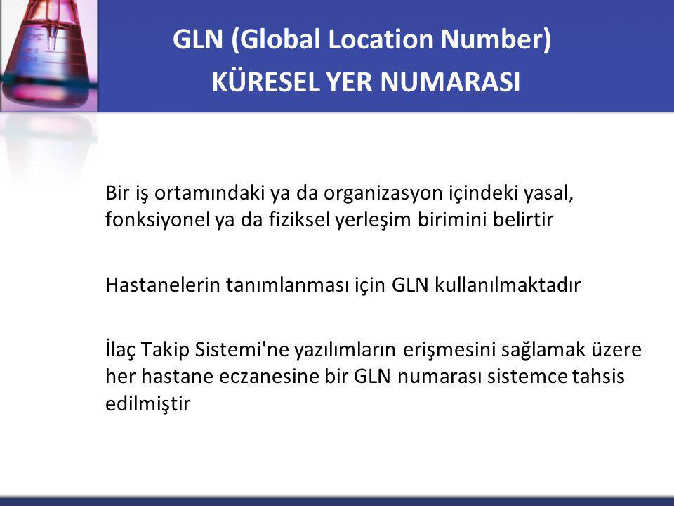 GLN (Global Location Number)