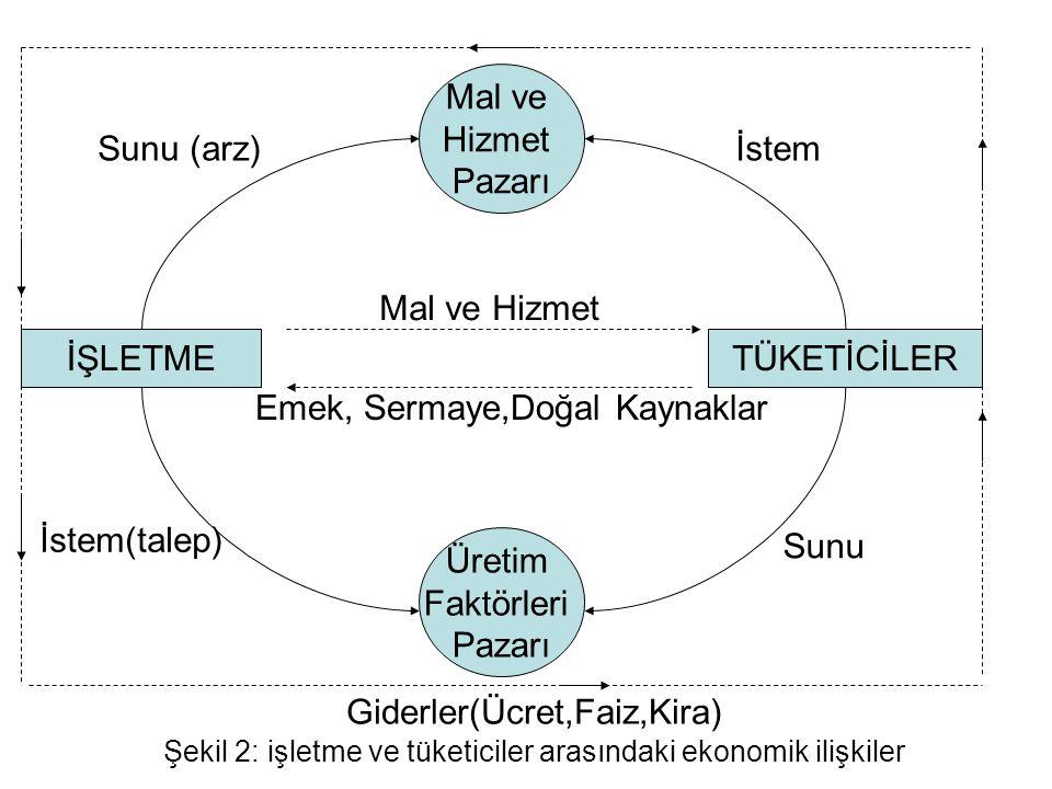 Emek, Sermaye,Doğal Kaynaklar