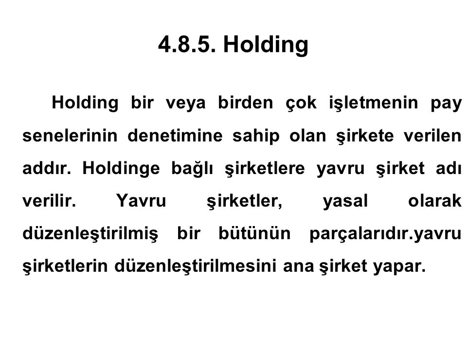 4.8.5. Holding