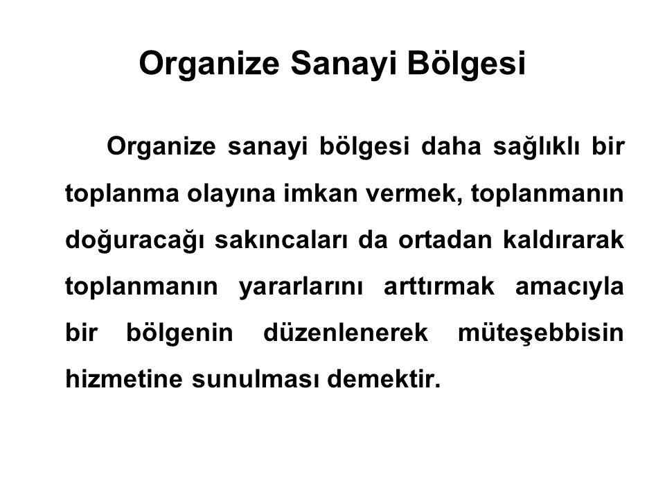 Organize Sanayi Bölgesi