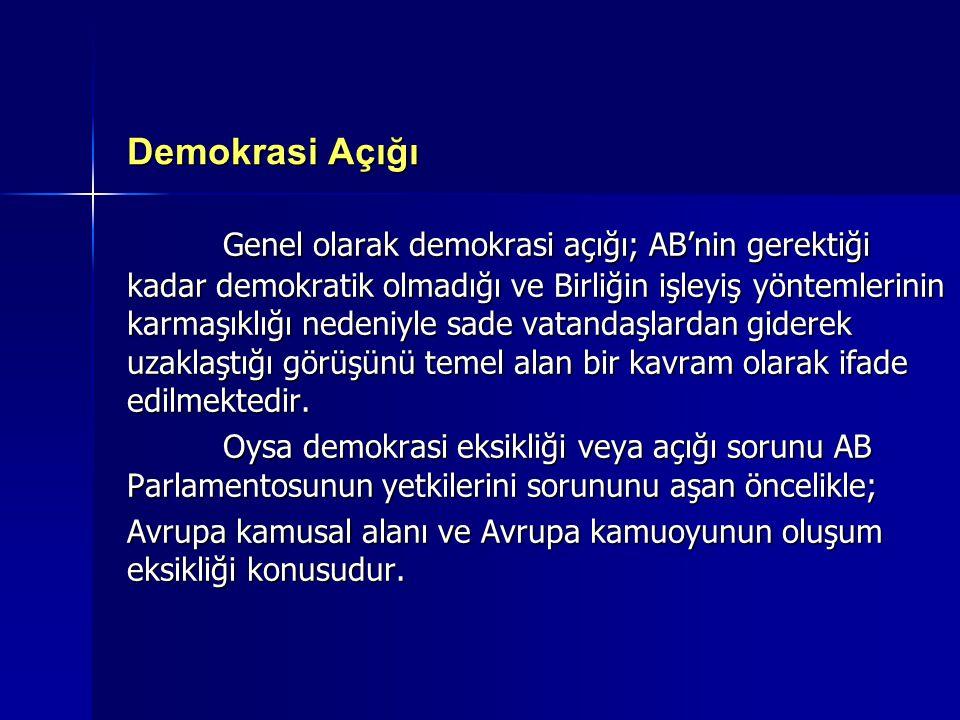 Demokrasi Açığı